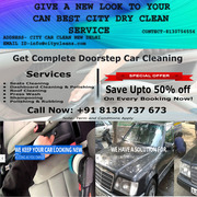 GIVE A NEW LOOK TO YOUR CAR -- SERVICE AT YOUR DOOR STEP.