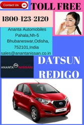 Welcome to Nissan Car Showroom,  Buy new RediGo car